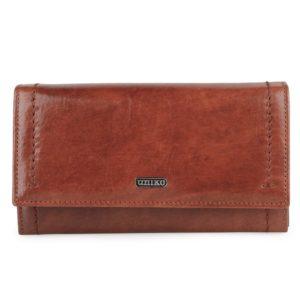 Uniko Dámská kožená peněženka Astoria 310904 - hnědá