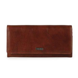 Uniko Dámská kožená peněženka  Gardens 317610 - hnědá