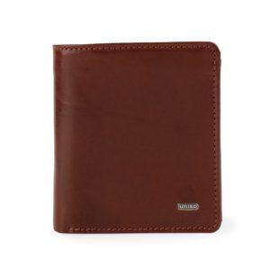 Uniko Pánská kožená peněženka Bushwick 217110 - hnědá
