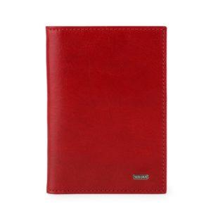 Uniko Kožené pouzdro na doklady Classic 968311 - červená
