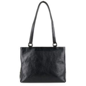 Sněžka Náchod Dámská kožená kabelka přes rameno 1082 - černá